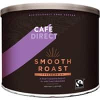 Café Direct Smooth Roast Instant Ground Coffee Tin Freeze Dried 500g