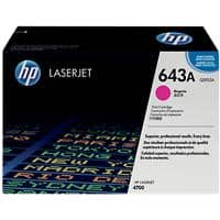 HP 643A Original Toner Cartridge Q5953A Magenta