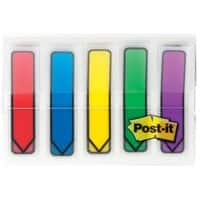 Post-it Index Flags 684-ARR1 Assorted Plain 11,9 x 43,2 mm 20 Strips Pack of 5