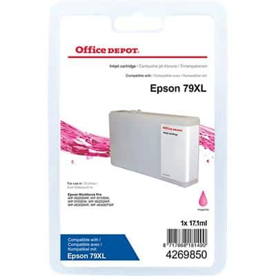 Office Depot Compatible Epson 79XL Ink Cartridge Magenta