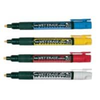Pentel Markers Chisel Assorted 4 Pieces