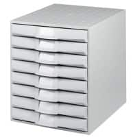 Exacompta Filing Drawers Plastic Grey 28.4 x 38.7 x 33.8 cm