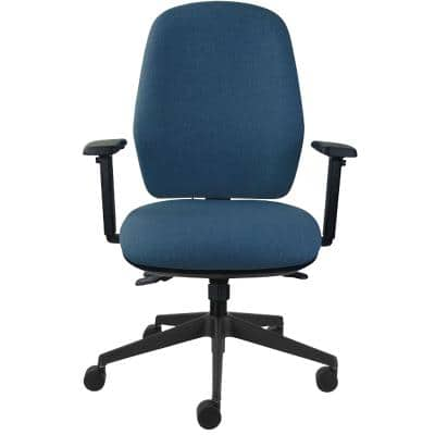 Energi-24 Ergonomic Office Chair Back Care Basic Tilt Blue