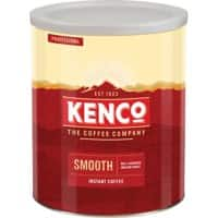Kenco Smooth Instant Ground Coffee Tin Freeze Dried 750g