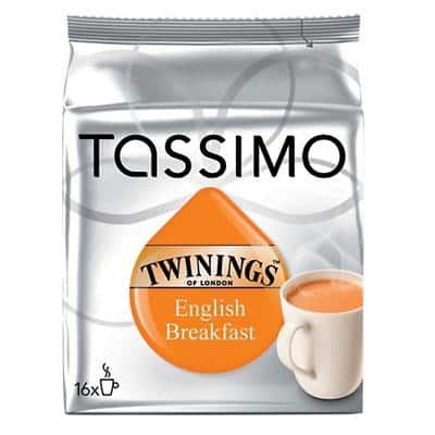 Tassimo English Breakfast Tea Bags 16 Pieces