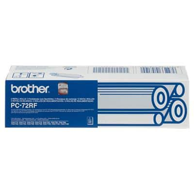 Brother Thermal Transfer Film PC72RF 8.1 x 15.1 x 2.8 cm Black 2 Pieces