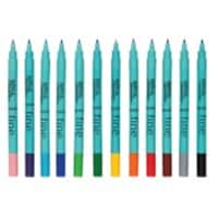 Berol Colourfine Colouring Pens Assorted 12 pk