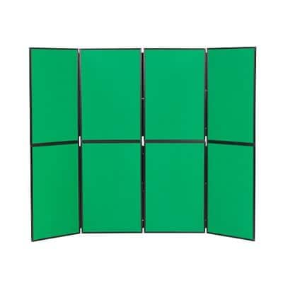Freestanding Display Stand PVC Lightweight 610 x 915mm Green