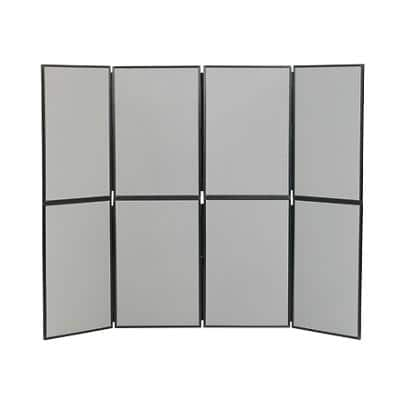 Freestanding Display Stand PVC Lightweight 610 x 915mm Grey
