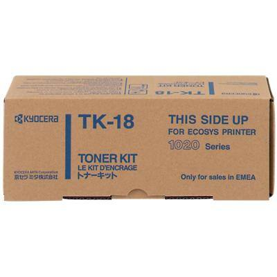 Kyocera TK-18 Original Toner Cartridge Black