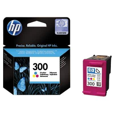 HP 300 Original Ink Cartridge CC643EE 3 Colours