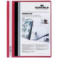 DURABLE Report File 257903 A4 Red PVC