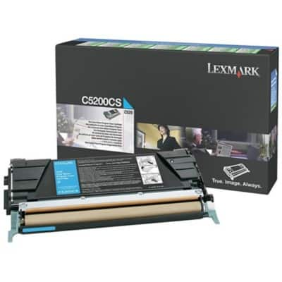 Lexmark C5200CS Original Toner Cartridge Cyan