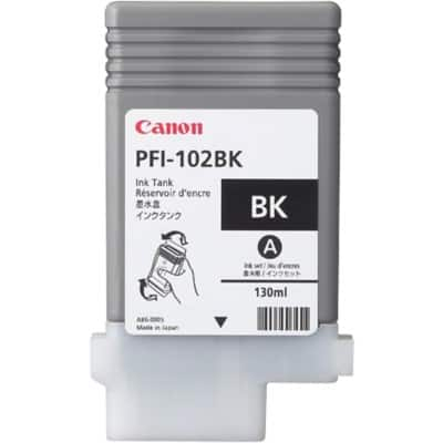 Canon PFI-102BK Original Black Ink cartridge 0895B001