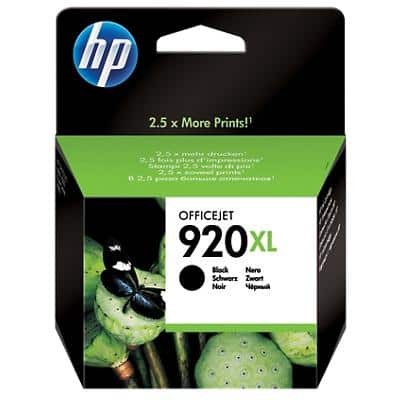 HP 920XL Original Ink Cartridge CD975AE Black