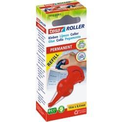 tesa Glue Roller Refill Eco Logo Red 14 m