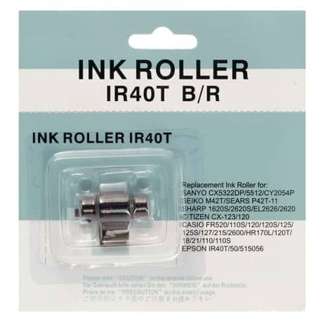 Viking IR40T-42 Original Black & Red Ink Roller