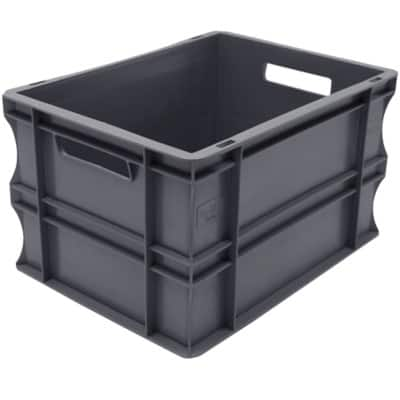 Viso Transport Bin Grey 40 x 30 x 22 cm