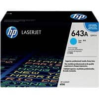 HP 643A Original Toner Cartridge Q5951A Cyan