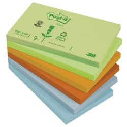 Post-it Sticky Notes 76 x 127 mm Assorted 12 Pieces of 100 Sheets