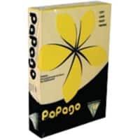 Papago Duplicator Paper Matt 80gsm 29.7 x 21 cm Yellow 500 Sheets