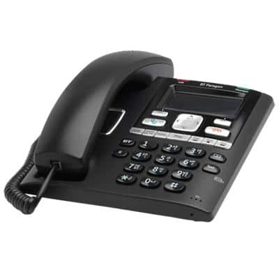 BT Telephone Paragon 650 Black