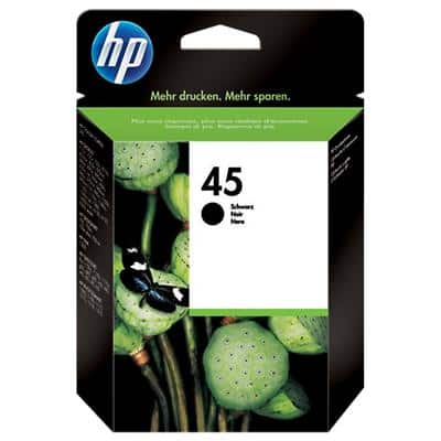 HP 45 Original Ink Cartridge 51645AE Black