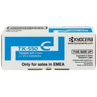Kyocera TK-550C Original Toner Cartridge Cyan