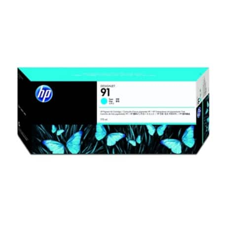 HP 91 Original Cyan Ink cartridge C9467A