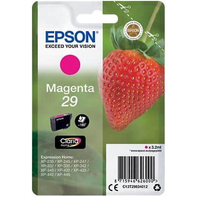 Epson 29 Original Ink Cartridge C13T29834012 Magenta