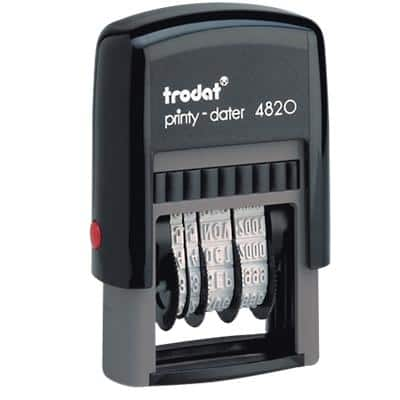 Trodat Ecoprinty 4820 Date Stamp Black