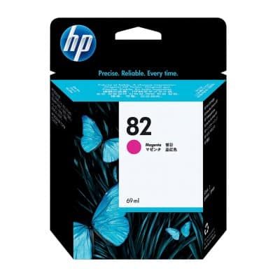 HP 82 Original Ink Cartridge C4912A Magenta