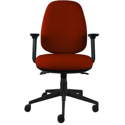 Energi-24 Ergonomic Office Chair Back Care Basic Tilt Red