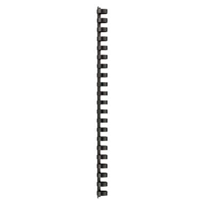 GBC Binding Combs 4028600 16.0 mm A4 Black 100 Pieces