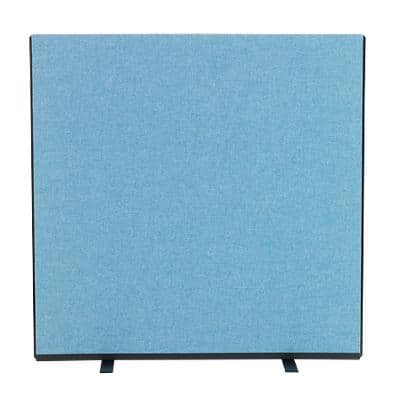 Freestanding Screen CSC8-BE Crystal Blue Woolmix 1,200 x 1,200 mm