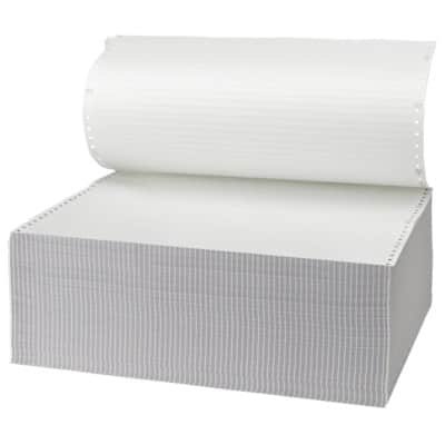Niceday Computer Listing Paper 180155 70gsm White 2000 Sheets