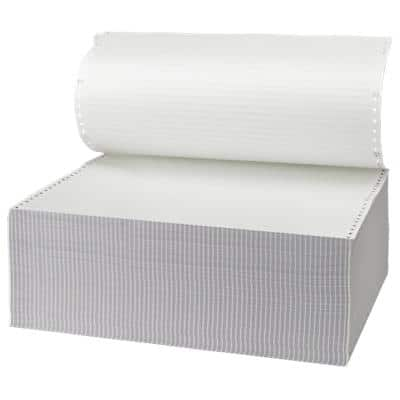 Niceday Computer Listing Paper 180155 70gsm 36.8 x 27.9 cm White 2000 Sheets