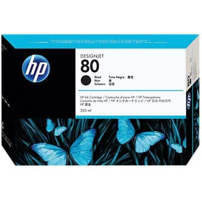 HP 80 Original Ink Cartridge C4871A Black