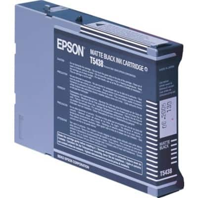 Epson T5438 Original Ink Cartridge C13T543800 Matte Black