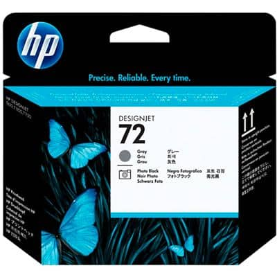 HP 72 Original Printhead C9380A Photo Black, Grey