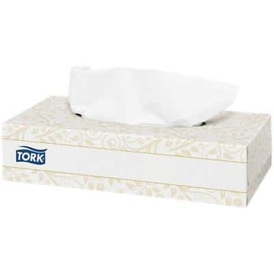 Tork Facial Tissue Box 140280 2 Ply 100 Sheets