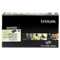 Lexmark 12A7400 Original Toner Cartridge Black