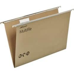 Rexel Multifile Suspension Files Foolscap Green - Box 50