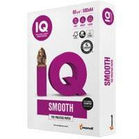 IQ Smooth Copy Paper A4 80gsm White 500 Sheets