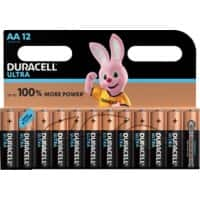Duracell Battery Ultra Power AA 12 Pieces