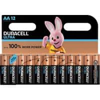 Duracell AA Alkaline Batteries Ultra Power MX1500 LR6 1.5V 12 Pieces