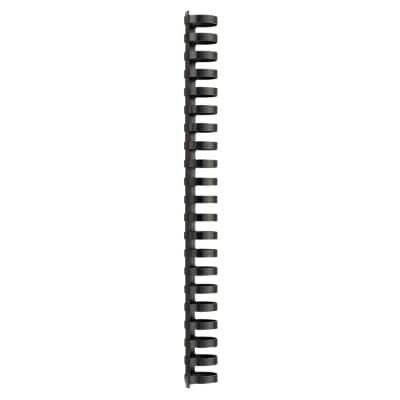 GBC Binding Combs 4028182 25 mm A4 Black 50 Pieces