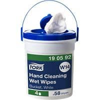 Tork Hand Cleaning Wet Wipes W14 White Pack of 58