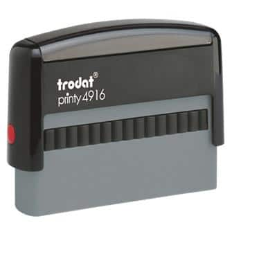Trodat Custom Text Stamp Printy 4916 Black
