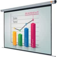 Nobo Projector Screen Electric Wall White 199 x 144 cm